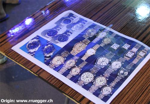 Market fake watches